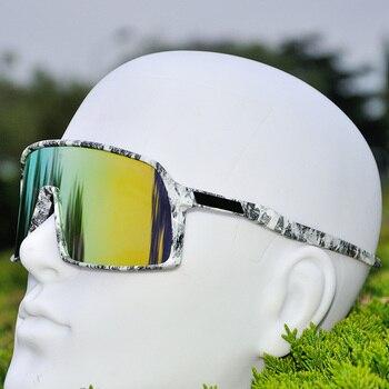 f2673fe5e5 2019 deportes al aire libre gafas de ciclismo hombres polarizado gafas  ciclismo bicicleta de montaña ciclismo gafas de sol de bicicletas UV400 3  lente