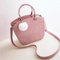 New fashion women shoulder bag vintage winter woman handbag lovely suede messenger bag crossbody bag for.jpg 200x200