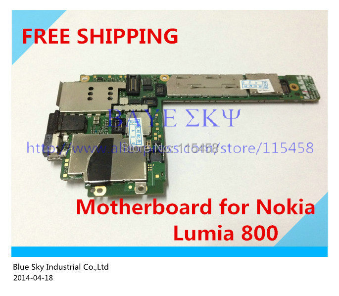 100% Original Good quality board unlock motherboard Nokia Lumia 800 N800 faster - Blue Sky Industrial Co.,Ltd store