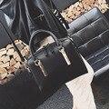 2016 Nueva Europa Y América Retro Boston Bolso Pequeño Bolsos de Moda Almohada Paquete de Hombro Messenger Bag