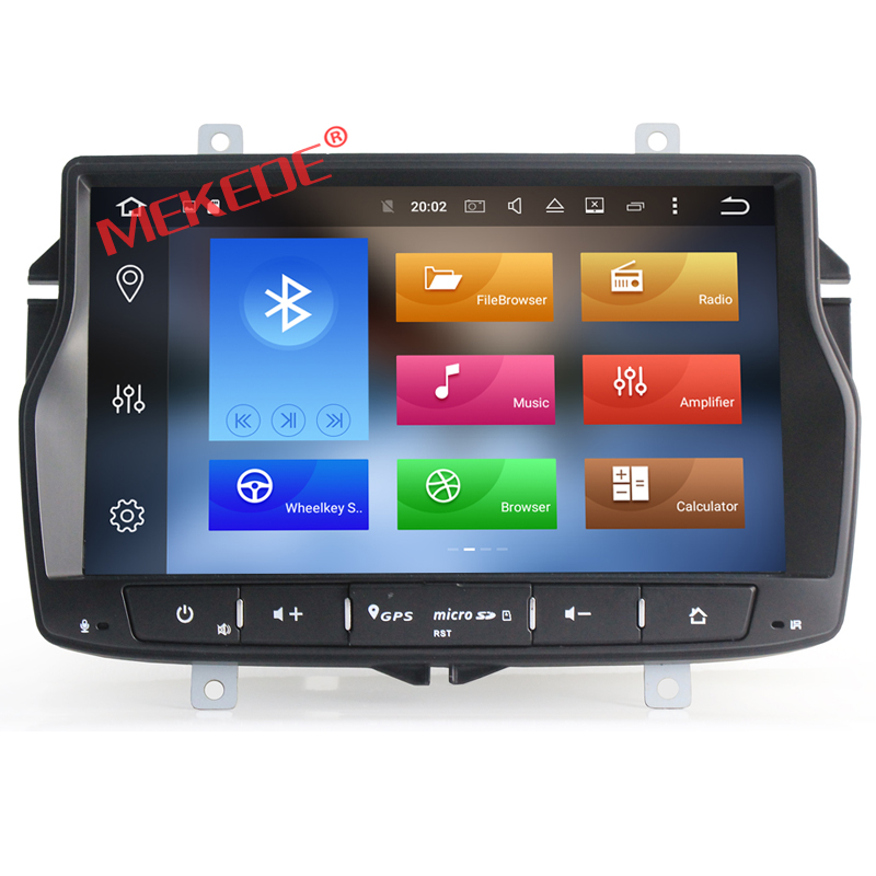 Free shipping Car Multimedia player for Lada Vesta free map for russia support russia Language support