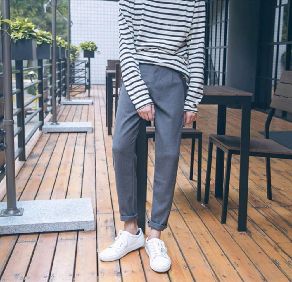 Autumn new style Mens casual pants suspender trousers suit pant trousers skinny pants male overalls with Detachable straps !
