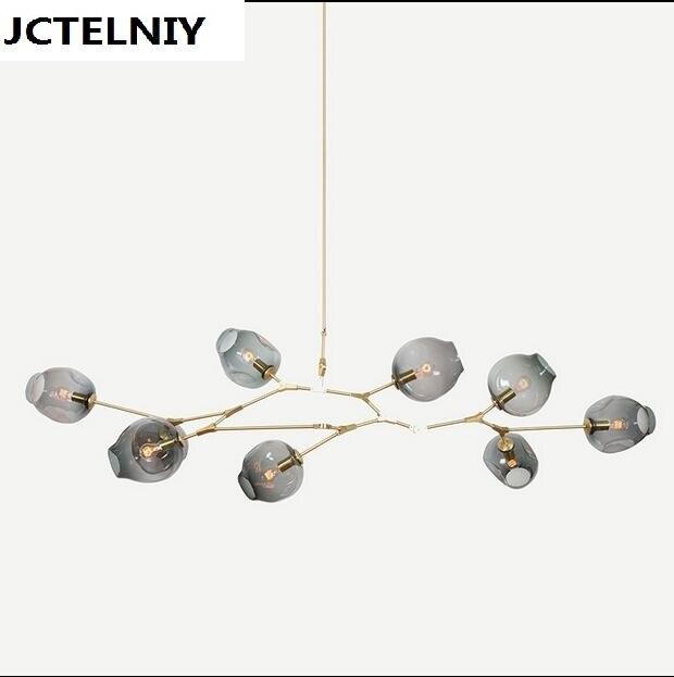 NEW Lindsey Adelman 8 Globe Glass Annular Modern,Contemporary Chandelier,Lamp,Pendent,Lightr  +Edison light bulb футболка insight lindsey gooden tee dusted