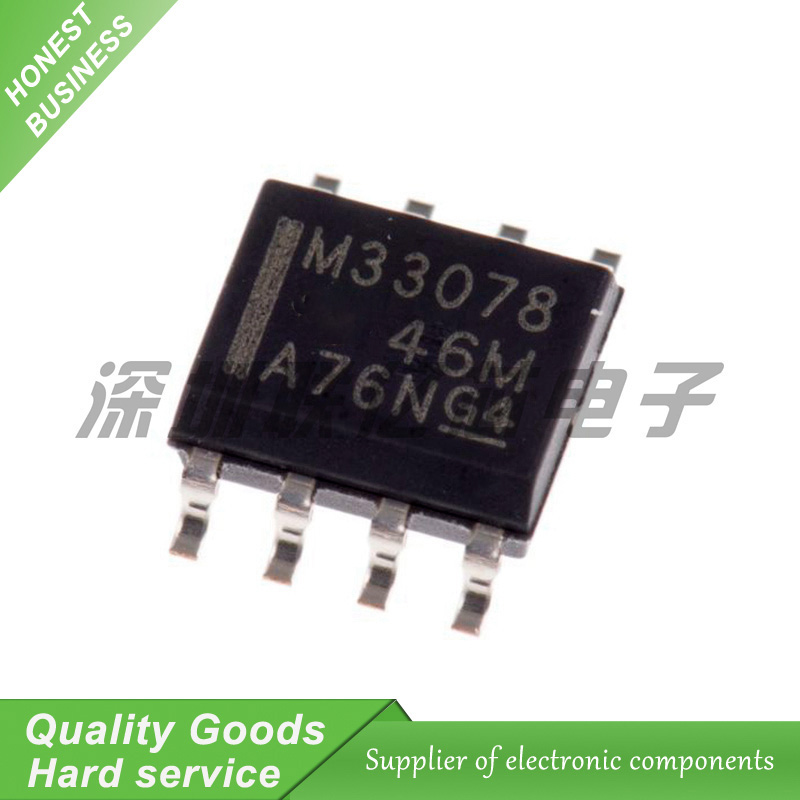 20PCS <font><b>MC33078</b></font> 33078 SOP-8 operational amplifier buffer amplifier with MC33078DR New Original Free Shipping image