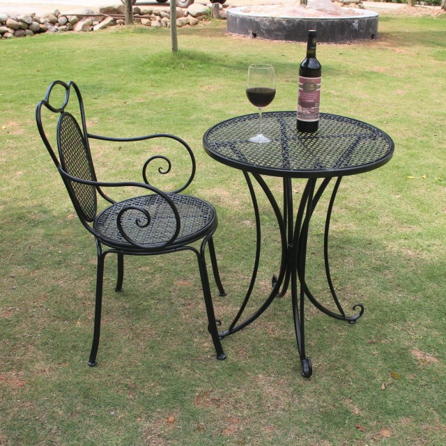 Compare prices on metal garden table chair sets online for Outdoor furniture europe
