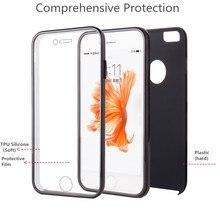 Caso de la cubierta de silicona tpu fundas para iphone 7 pantalla táctil de plástico capa compacta coque apple 7 teléfono móvil bolsas de navidad