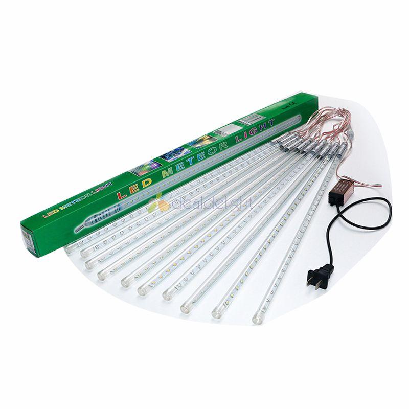 2sets 80cm 2835 SMD LED Meteor Shower Rain lights   tree pendant Christmas tube  10pcs 80cm tubes/set with driver title=