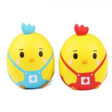 2018 Új Kawaii Squishy Jumbo Csirke Lassú Növekszik Csökkenti a nyomás Stress Relief Gyerekek Squeeze Toy Chritmas Ajándék Gyermekeknek