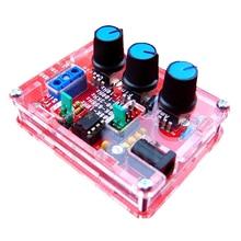 XR2206 funktionsгенератор синусоидальный генератор квадратной волны 1 Гц-1 МГц красный