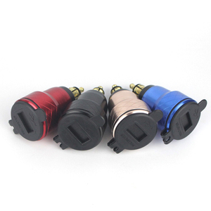 Image 5 - Für BMW F800GS R1250GSA R1200GS QC 3,0 Dual USB wasserdichte Motorrad Ladegerät Steckdose Zigarette Leichter Adapter Led anzeige