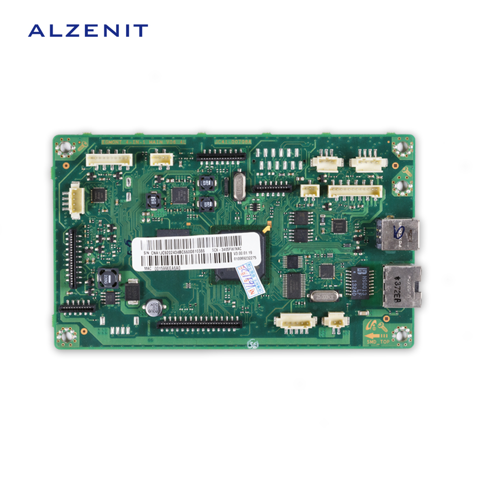 GZLSPART For Samsung SCX 3405 SCX-3405 SCX-3405FW Original Used Formatter Board Laser Printer Parts On Sale alzenit for samsung clp 310 clp310 clp 310 original used formatter board laser printer parts on sale