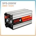 Modificado sine inversor de energia 2000 W 4000 watt peak DC 12 V/24 V carro inversor de energia solor