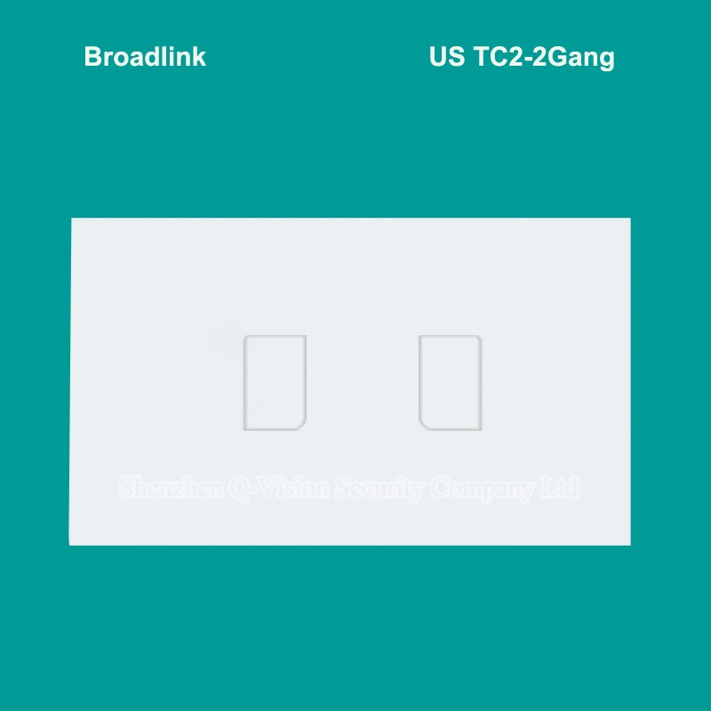 2016-New-Broadlink-TC2-2-Gang-433MHZ-Remote-Control-Wireless-Wifi-Wall-Light-Touch-Switch-US