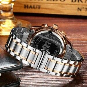 Image 5 - Watches Men LIGE Brand Full Steel Military Watches Mens Quartz Clock Men Business Watch Sport Waterproof WristWatch Man Relojes