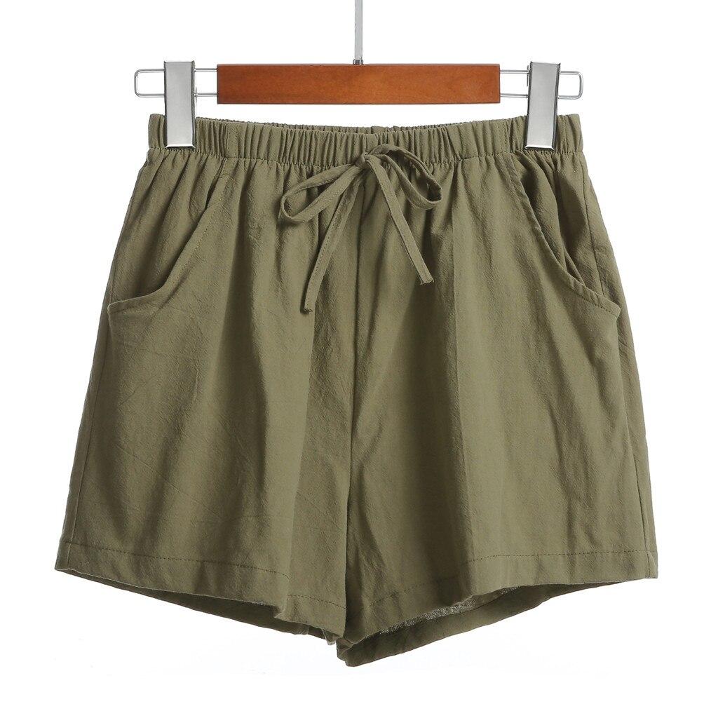Shorts Femme Taille Haute 2019 Short Mujer Cintura Alta Casual Women Pantalones Mujer Cortos Ladies High-waist Shorts Z4