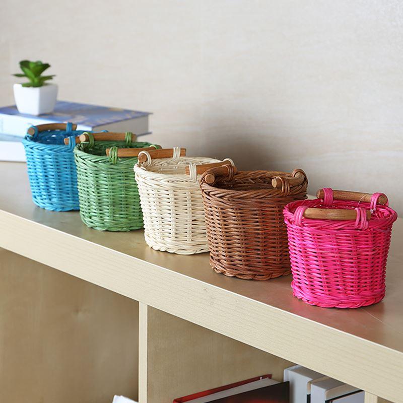 Achetez en gros mini panier en osier en ligne des - Panier decoratif osier ...