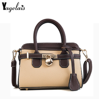 Women PU Leather Handbag Ladies Large Tote Bag Female Square Shoulder Bags Bolsas Femininas Sac New Korean Style Hand Bags