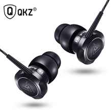 Original QKZ Stereo Earphone with Microphone Earbuds In Ear Headset Bass Sound Music Earphone for Ip