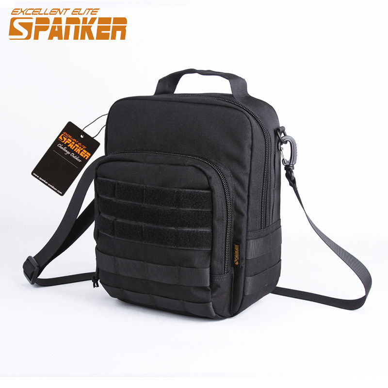 EXCELLENT ELITE SPANKER Tactical Shoulder Bags Molle Nylon Pouch Outdoor Military Hunting Hiking EDC Waterproof Shoulder Bag excellent elite spanker outdoor military waterproof travel backpack army tactical hiking nylon bag molle hunting sport backpack