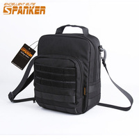 EXCELLENT ELITE SPANKER Tactical Shoulder Bags Molle Nylon Pouch Outdoor Military Hunting Hiking EDC Waterproof Shoulder