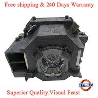 Imoul a + qualidade e 95% brilho da lâmpada do projetor para elplp41/v13h010l41 para EB-S6 EB-S62 EB-S6LU EB-TW420 EB-W6 EB-X6 EB-X62