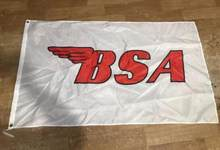 Moto BSA 3X5FT da bandeira da bandeira da bandeira Americana