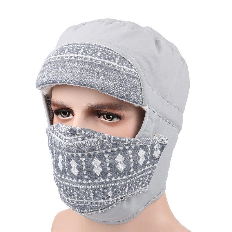 Recommend 2017 Women skullies Beanies Outdoor Hat Winter Warm Earmuffs Face Ski Motorcycle Mask Snow Cap Multi purpose Cappello skullies