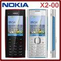 X2 original nokia x2-00 fm bluetooth java 5mp desbloqueado celular hot venda na polónia frete grátis