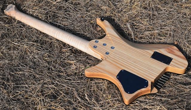 2019 New NK Headless guitar Fanned Fret guitars - free shipping 5