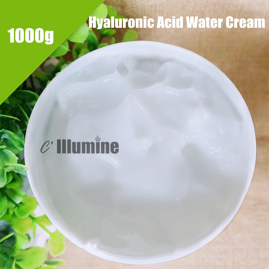 1000g Anti-Dry Hyaluronic Acid Water Cream Moisturizing Replenishing Anti-Wrinkle Nourishing Beauty Salon the beauty salon hyaluronic acid white super hydrating facial massage cream 500 grams