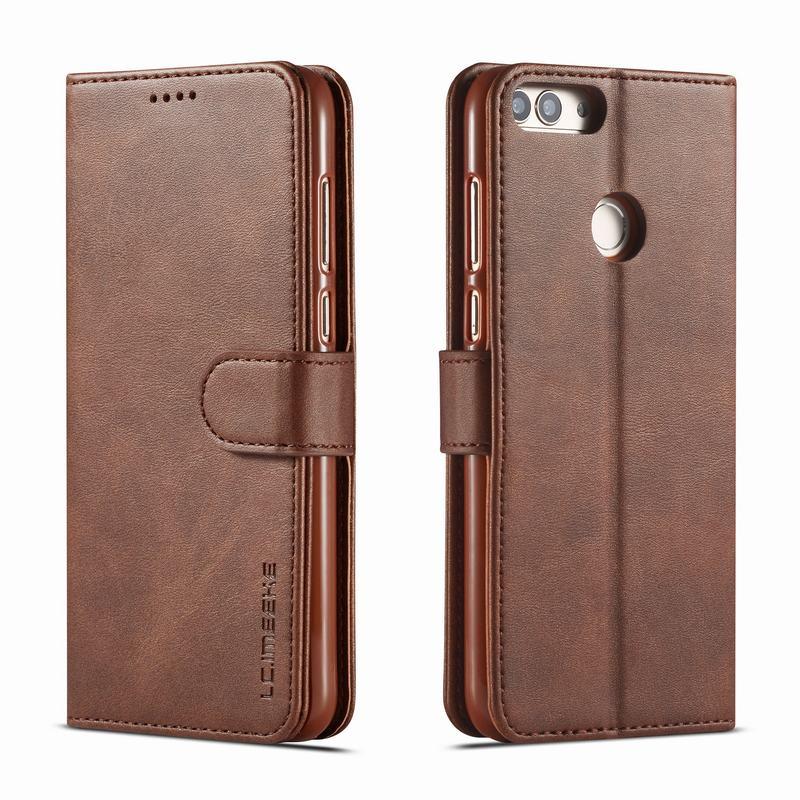 Чехол для Huawei P Smart, чехол с магнитной застежкой, роскошный винтажный простой кошелек, кожаная сумка для телефона Huawey Psmart 2018 2019, чехол