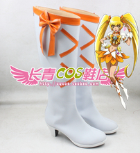 Pretty Cure Precure cure sunshine cosplay Shoes Boots Custom Made 4624(China)