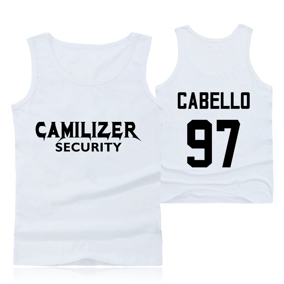 Sports Clothing Sports & Entertainment Bright Camila Cabello Never Be The Same Tour Tank Tops Women/men Summer Running Fashion 2019 Hot Sale Casual Trendy Streetwear Clothes Durable Service