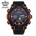 Аналого-Цифровой Спортивные Часы Мужчины Dual Time Наручные Часы Люксовый Бренд Мужчины Часы relogio militar цифровые часы Мода WS1317