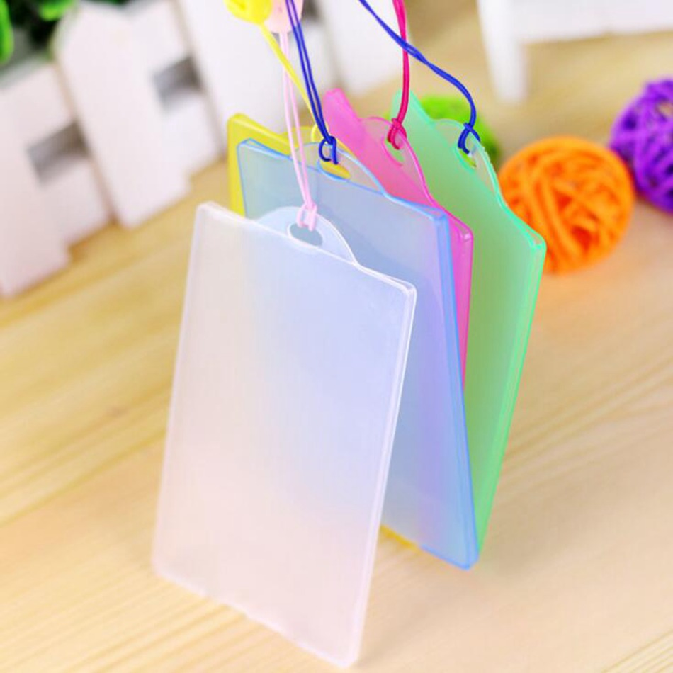 Fasion Waterproof PVC Card Holder Credit Student Transparent ID Cards Passport Business Bancaire Bank Card Cardholder new passport holderstransparent silicone waterproof dirt cover size 9x13 1cm id cards business card credit card bank holders