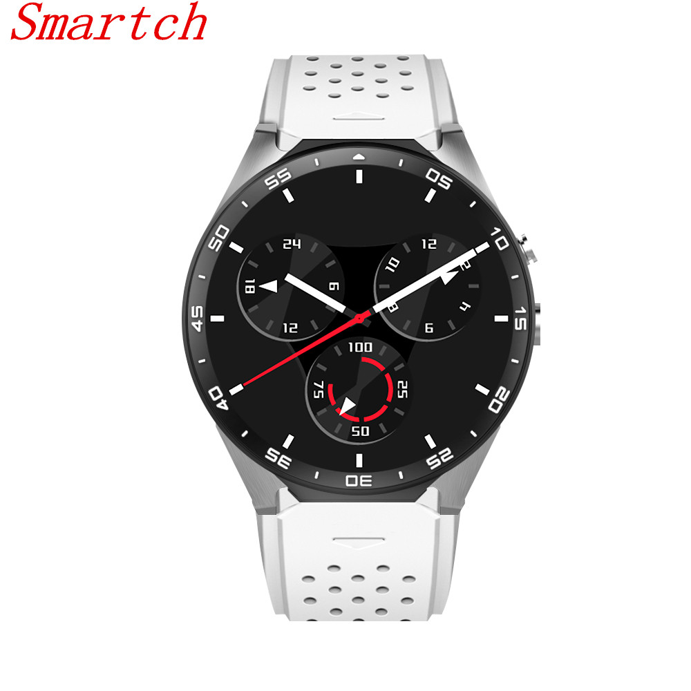 Smartch Kw88 android 5.1 OS Smart watch android electronics mtk6580 GPS SmartWatch phone Clock support 3G wifi nano SIM WCDMA interpad dm98 smart watch big screen 2 2 inch ips hd huge 900mah battery android phone clock support gps wifi sim smartwatch