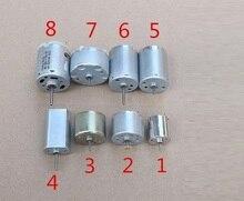 8PCS DC Motor Mix Set 3-14VDC 020 370 310 180 365