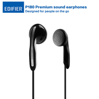 Edifier P180 Earphone Stereo Bass Earphones Classical Style HI FI Headset With Microphone For Tablet Mobile