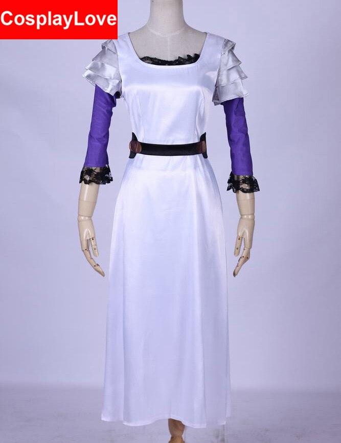 東京グール Rize Kamishiro ホワイトドレスコスプレ衣装カスタムメイドのための  グループ上の ノベルティ & 特殊用途 からの アニメ コスチューム の中 1