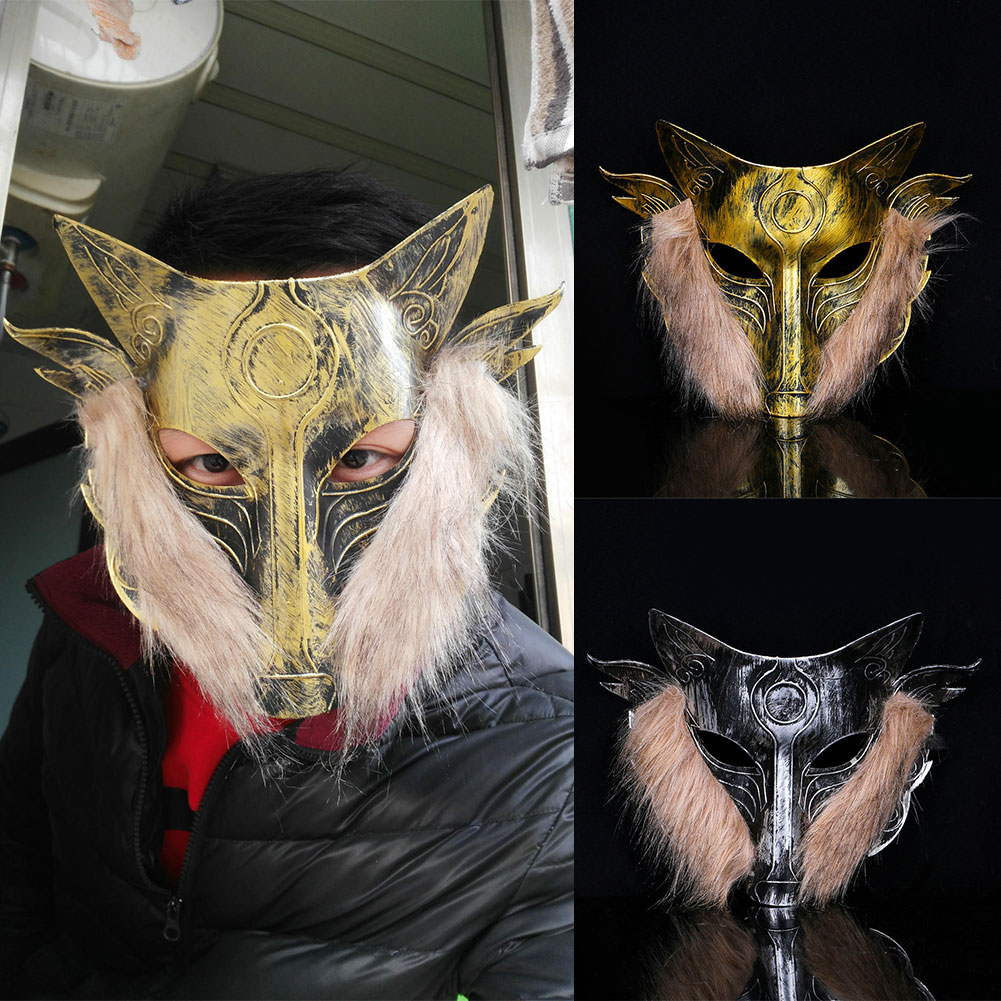 Werewolves Of Millers Hollow Game Wolf Mask Horror Prank Props Ornament