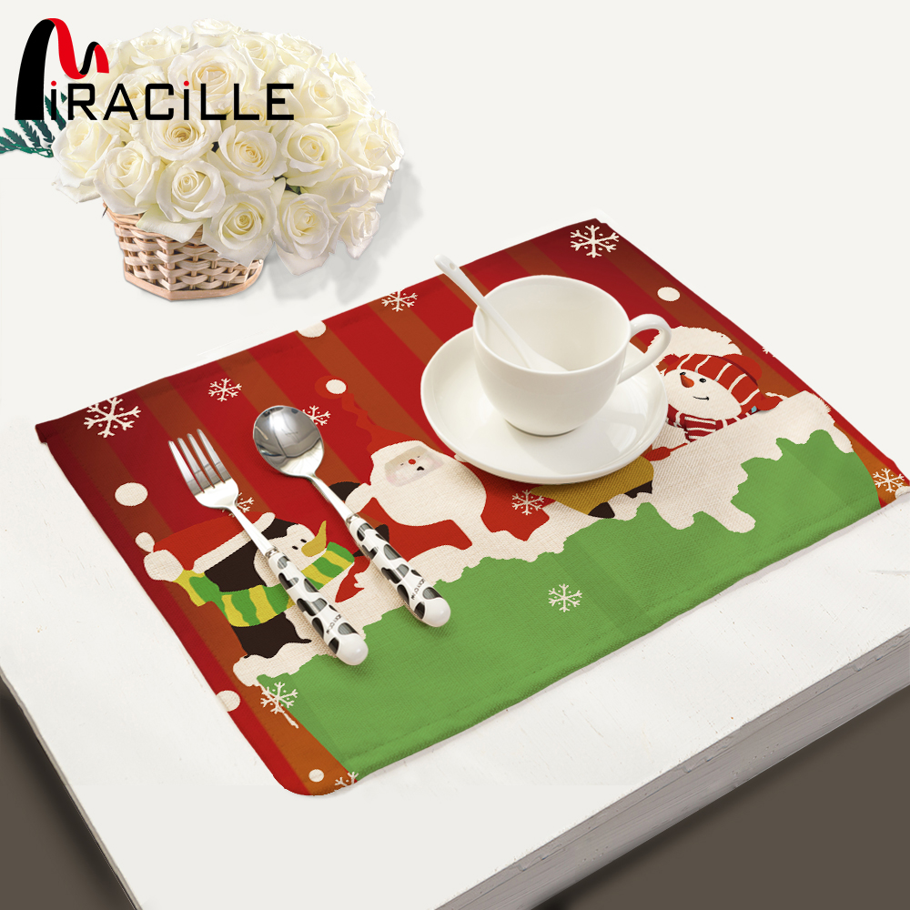 Miracille christmas decoration supplies dinner cotton for House decoration products
