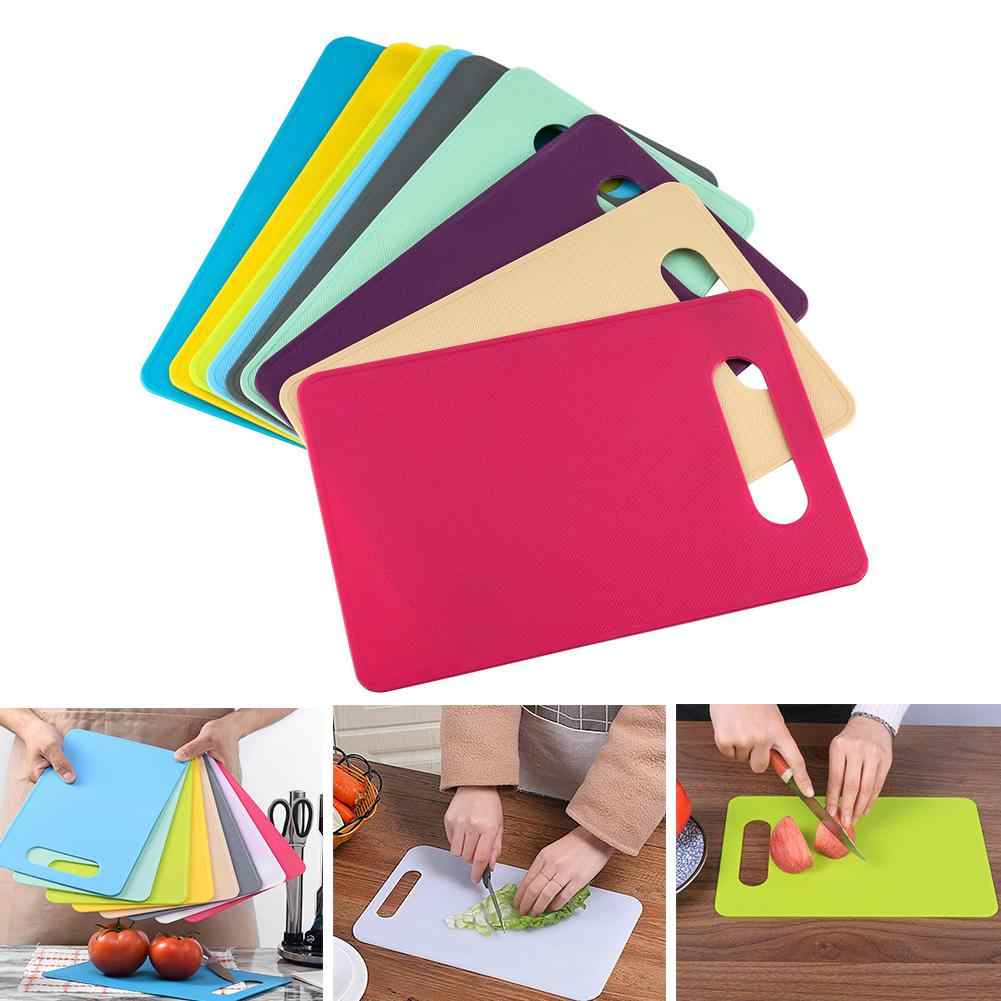 1pc Plastic Chopping Board Non-slip Frosted Kitchen Cutting Board Vegetable Meat Tools Kitchen Accessories Chopping Boar