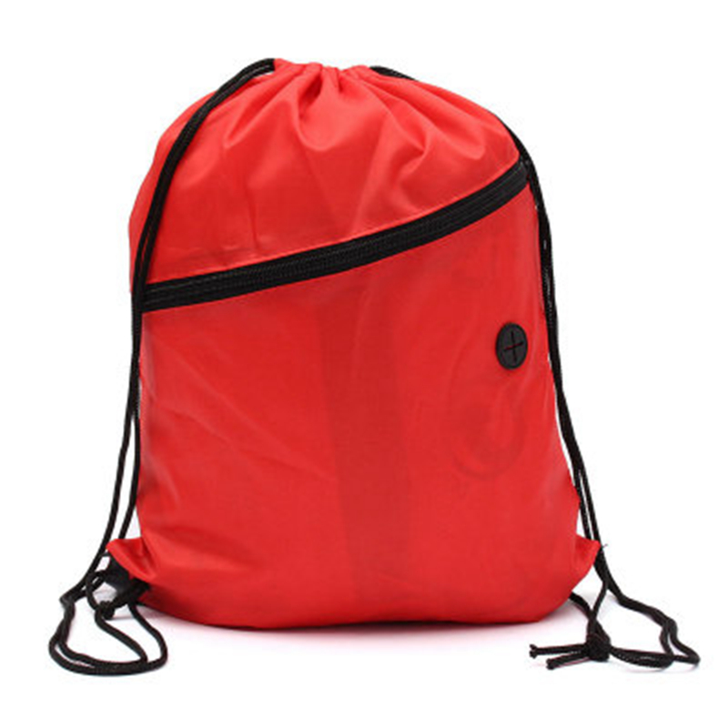 3c0d03a2dcdc Mini Waterproof Nylon Shoe Bags Storage Gym Bags Drawstring Dust Backpacks  Storage Pouch Outdoor Travel Duffle Sports Bags -in Gym Bags from Sports ...