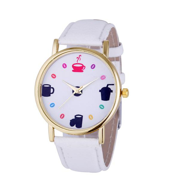 <font><b>New</b></font> <font><b>Arrival</b></font> Fashion Womens Leather <font><b>Stainless</b></font> Steel Date Dress Quartz Analog Wrist Watch <font><b>Wholesale</b></font> 8 <font><b>color</b></font> watch Women <font><b>Hot</b></font> <font><b>Sale</b></font>