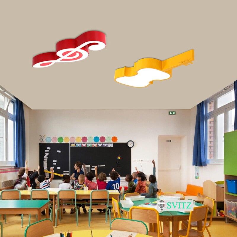 Creatieve Minimalistische Kinderen Led Plafondlamp Cartoon Dans ...