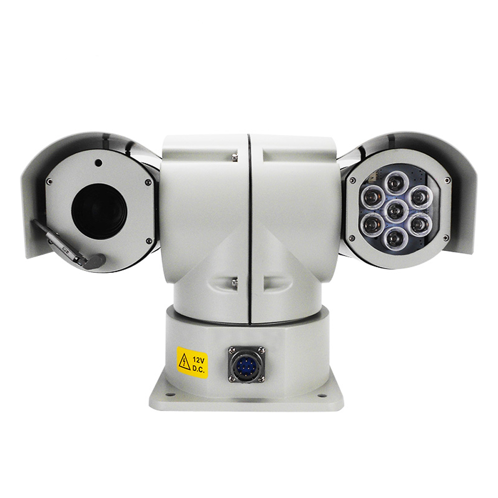 30x Zoom Waterproof Weatherproof 2.0 MP Anti-shock Military Police Vibration-Proof Surveillance CCTV Camera Vehicle Mounted PTZ30x Zoom Waterproof Weatherproof 2.0 MP Anti-shock Military Police Vibration-Proof Surveillance CCTV Camera Vehicle Mounted PTZ