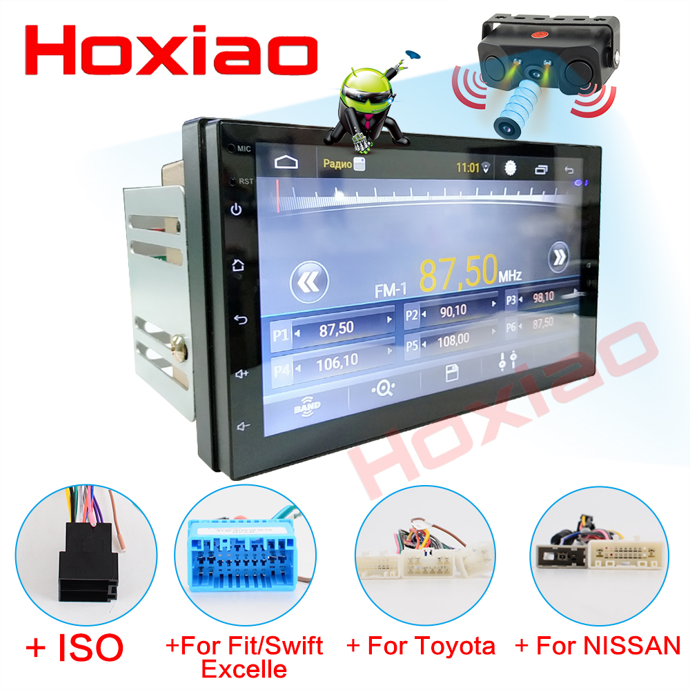 2 Din Android 6 0 Car Radio Stereo No DVD 7 1024 600 Universal Car Player