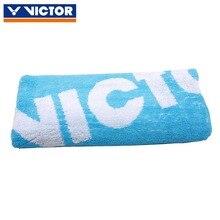 1 шт., спортивное полотенце VICTOR для бадминтона, рыбалки, утолщенное антипригарное впитывающее полотенце для пеших прогулок, альпинизма, рук, Хлопковое полотенце 40*85 см