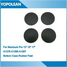 """4 шт. нижний резиновый корпус ноги для Macbook Pro 1"""" 15"""" 1"""" A1278 A1286 A1297"""