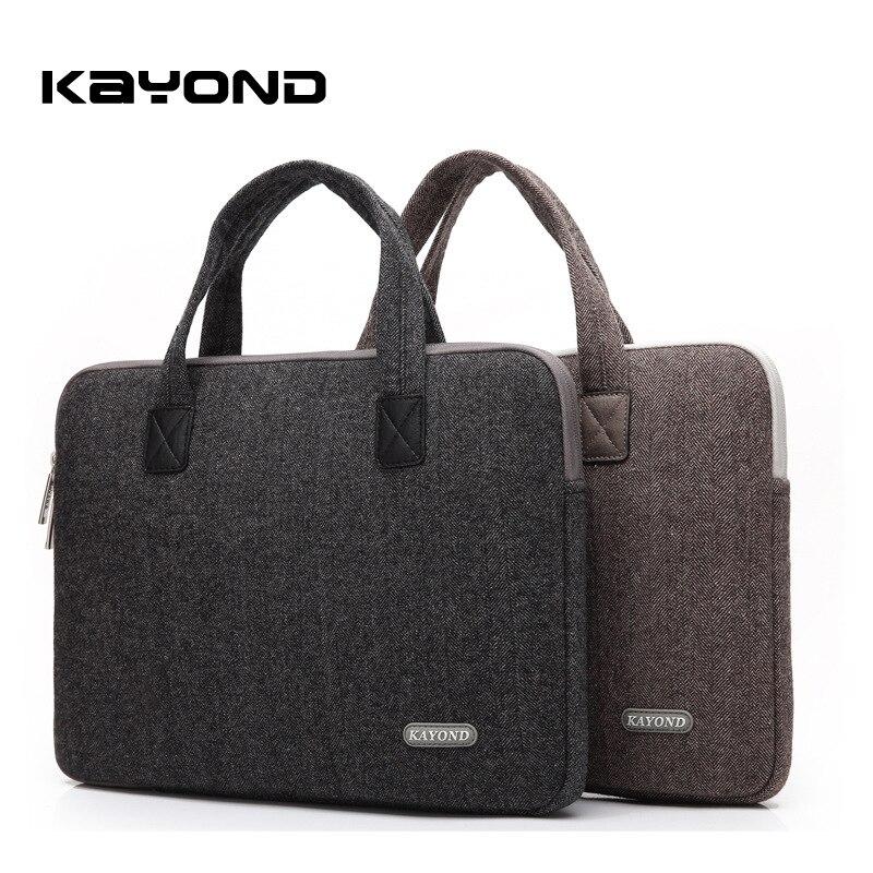 2018 New Kayond 13 14 15 inch Laptop Bag Nylon Portable Men Women Handbag Case for Macbook Lenovo HP Dell Notebook Bag
